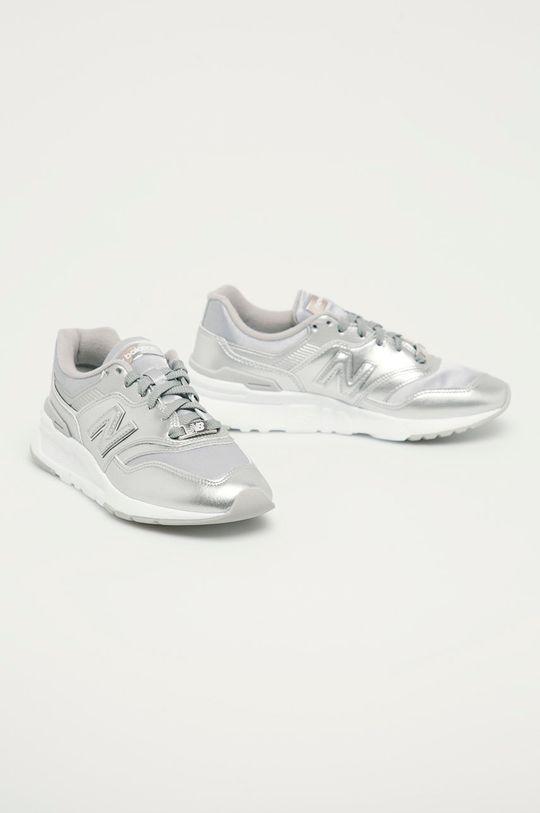 New Balance - Boty CW997HML stříbrná