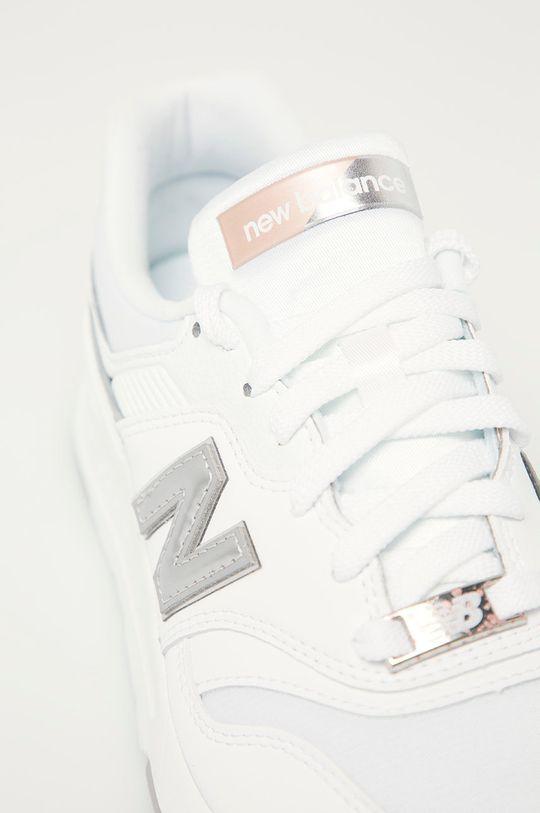 alb New Balance - Pantofi CW997HMW