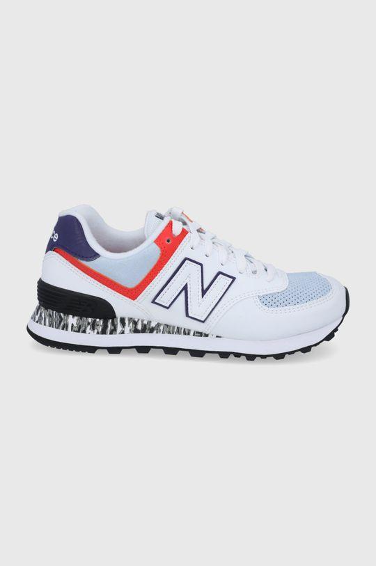 alb New Balance - Pantofi WL574CS2 De femei