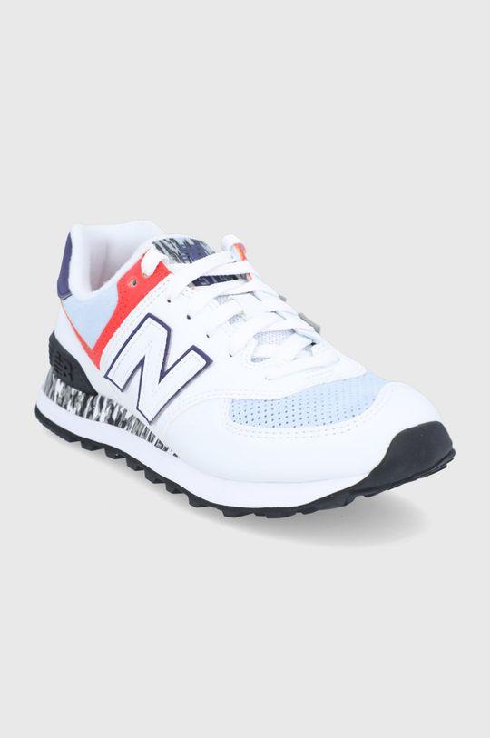 New Balance - Pantofi WL574CS2 alb