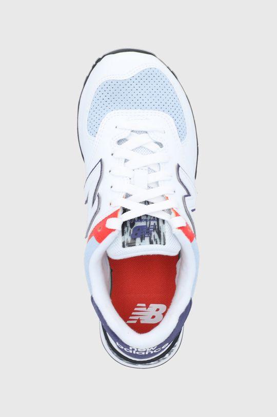 alb New Balance - Pantofi WL574CS2