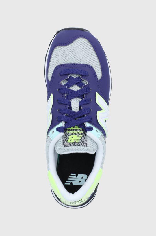 fialová New Balance - Topánky WL574CT2