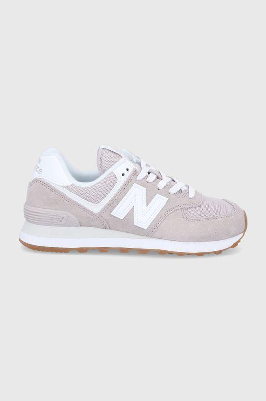 piesková New Balance - Topánky WL574PA2 Dámsky