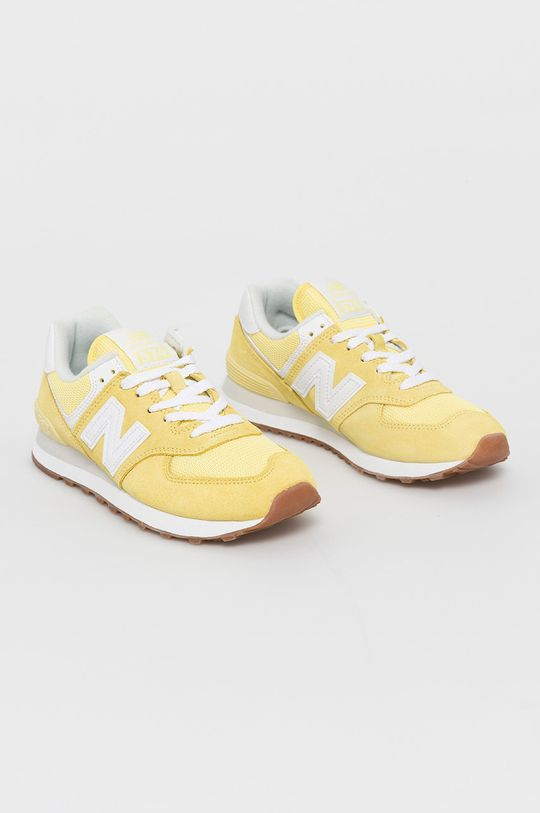New Balance - Pantofi WL574PK2 galben