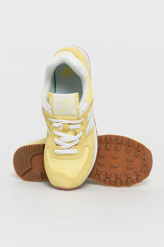 galben New Balance - Pantofi WL574PK2