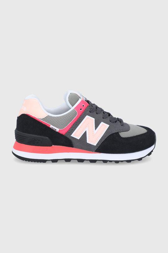 negru New Balance - Pantofi WL574ST2 De femei
