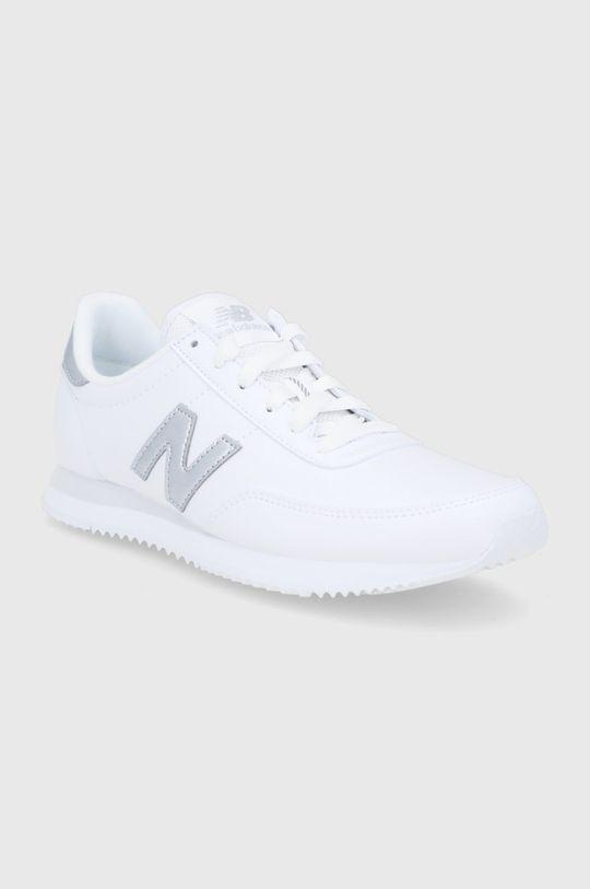 New Balance - Kožené boty WL720MA1 bílá