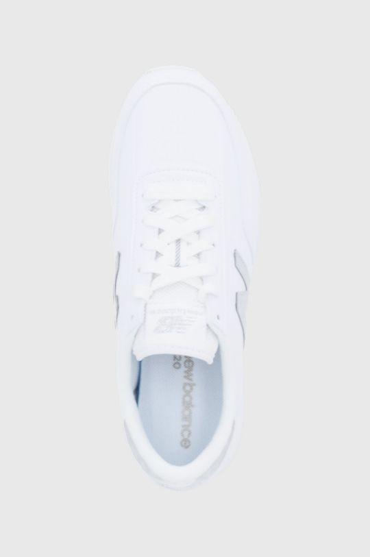 bílá New Balance - Kožené boty WL720MA1