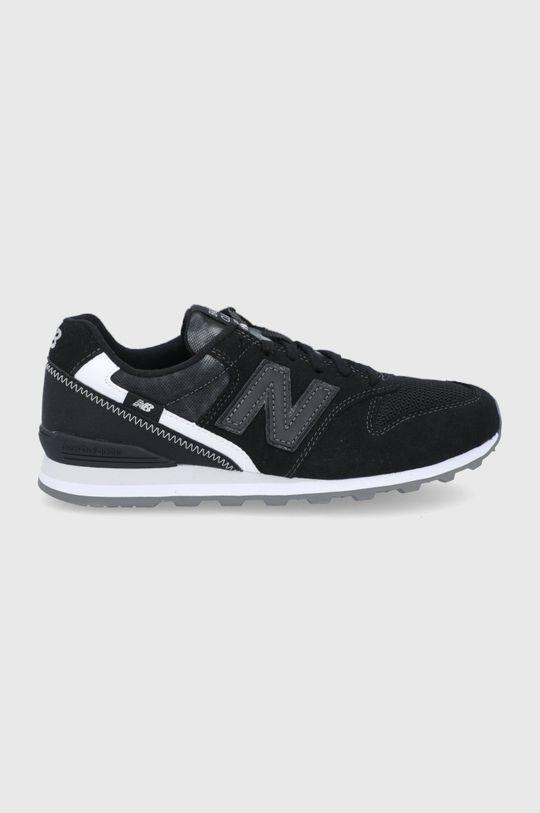 čierna New Balance - Topánky WL996FPB Dámsky