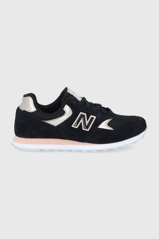 čierna New Balance - Topánky WL393MTL Dámsky