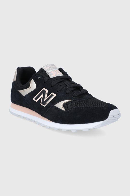 New Balance - Topánky WL393MTL čierna