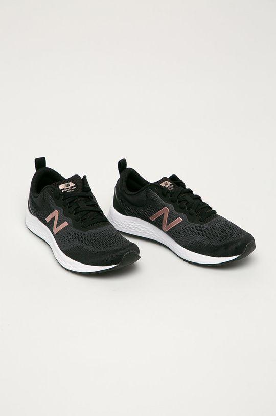 New Balance - Boty WARISLL3 černá