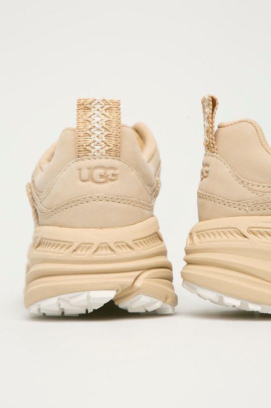 UGG - Kožené boty Emmi  Svršek: Semišová kůže Vnitřek: Textilní materiál Podrážka: Umělá hmota