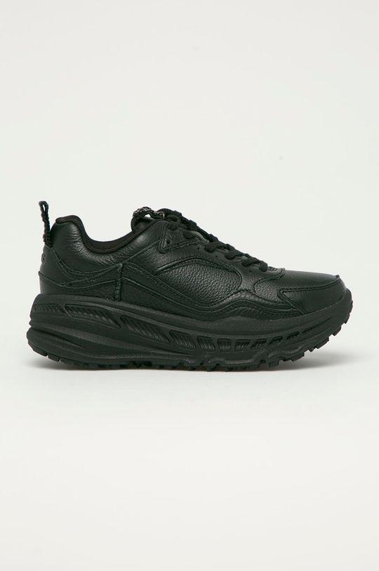 černá UGG - Kožené boty Emmi Dámský