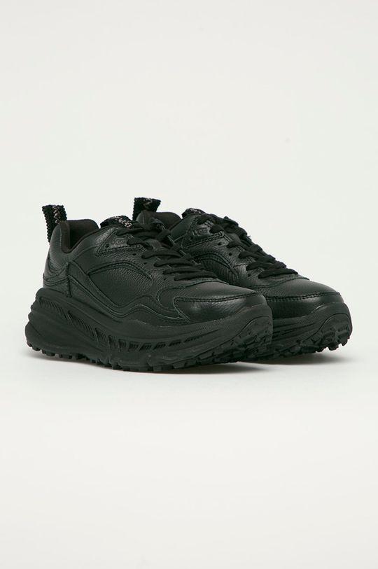 UGG - Kožené boty Emmi černá