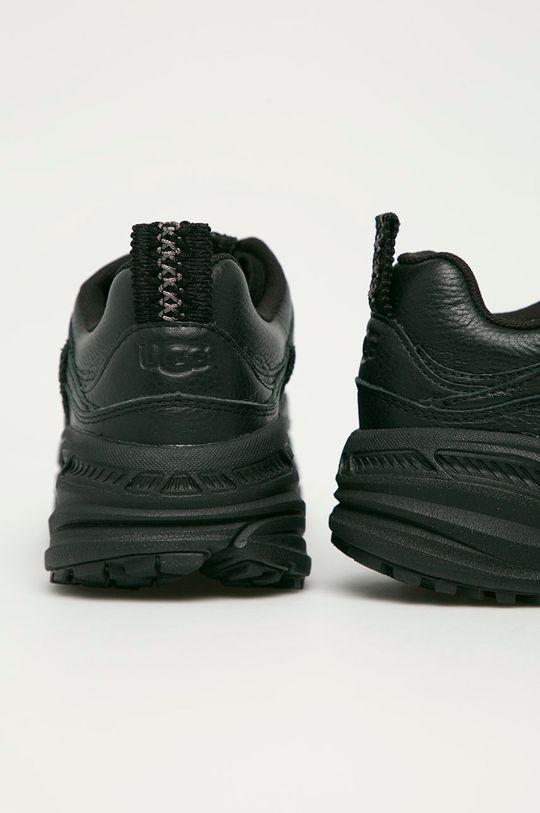 UGG - Kožené boty Emmi  Svršek: Přírodní kůže Vnitřek: Textilní materiál Podrážka: Umělá hmota