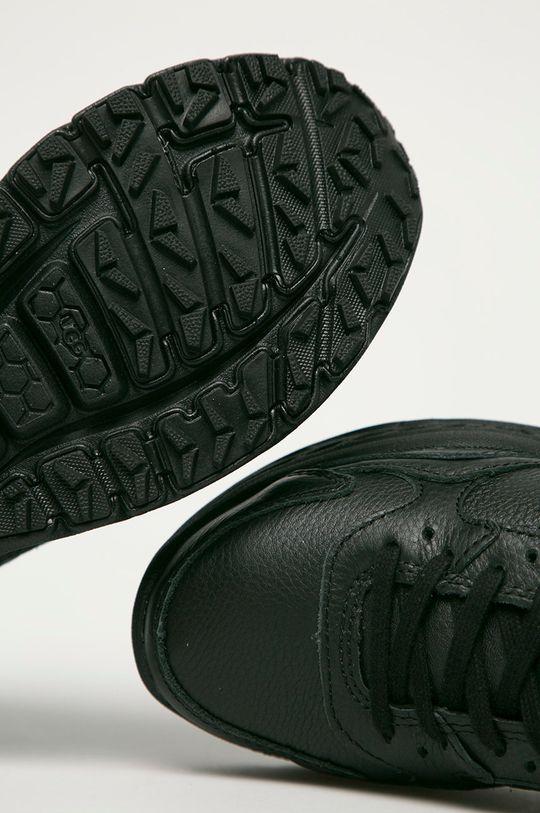 černá UGG - Kožené boty Emmi