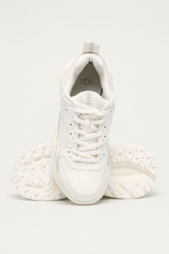 bílá UGG - Kožené boty Emmi