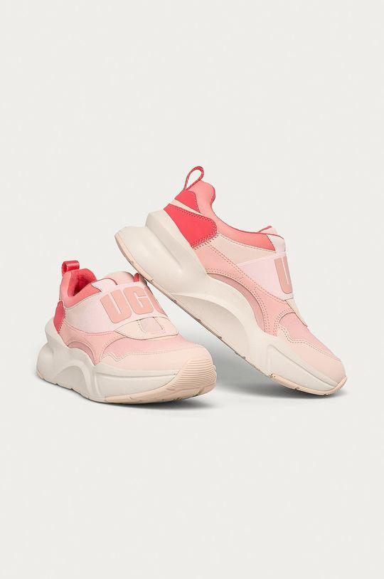 UGG - Topánky W La Flex ružová
