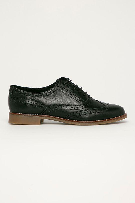 negru Aldo - Pantofi de piele Ibaeviel De femei
