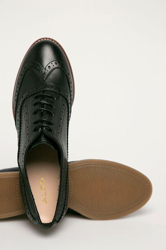 negru Aldo - Pantofi de piele Ibaeviel