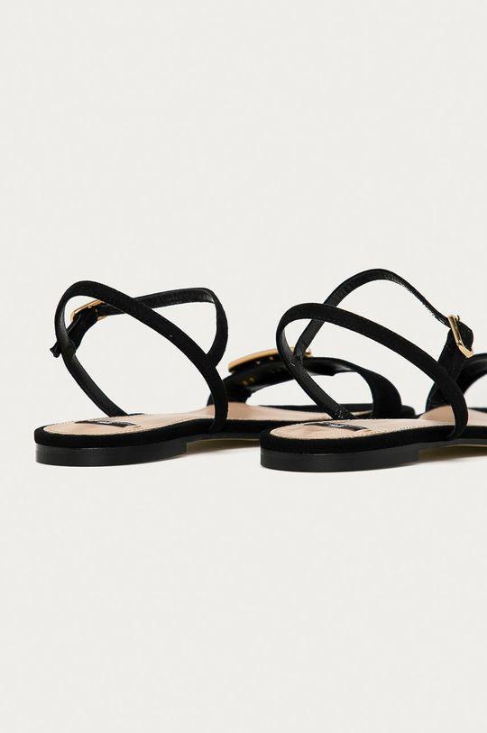 Elisabetta Franchi - Semišové sandále  Zvršok: Semišová koža Vnútro: Prírodná koža Podrážka: Prírodná koža