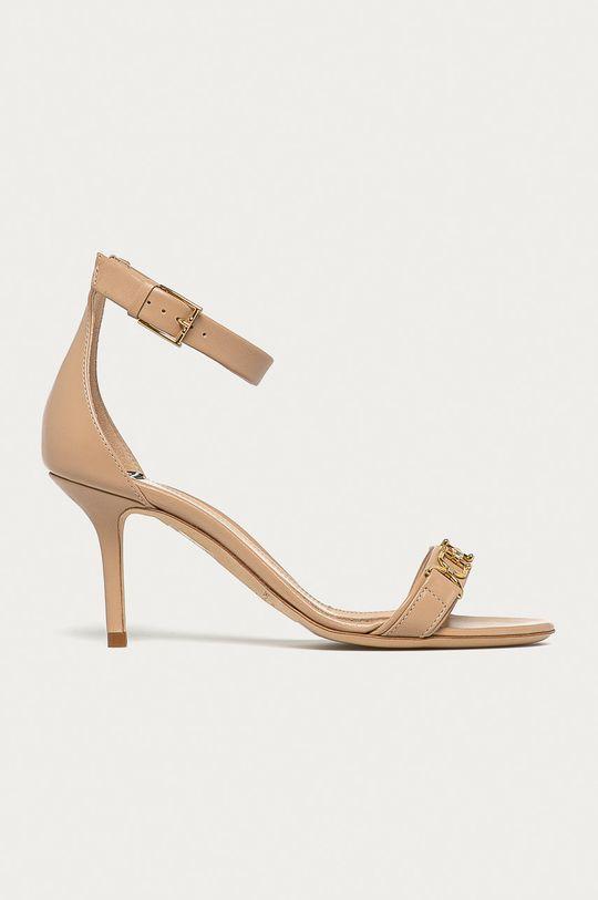 culoarea tenului Elisabetta Franchi - Sandale de piele De femei