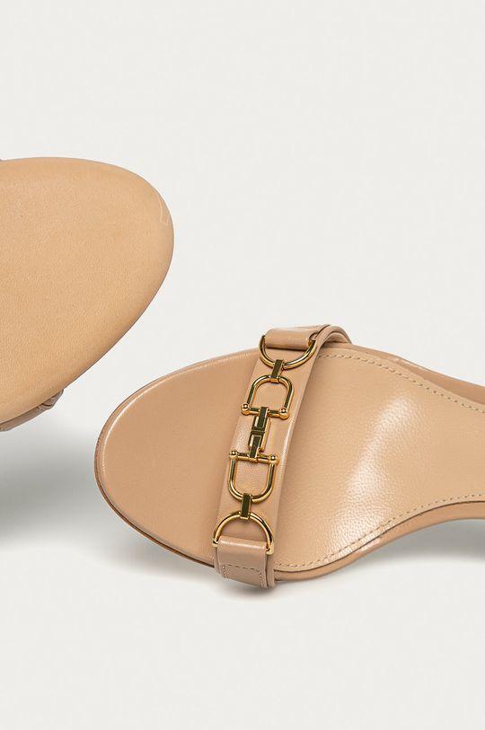culoarea tenului Elisabetta Franchi - Sandale de piele
