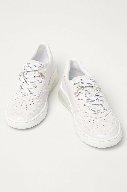 Coach - Buty skórzane biały