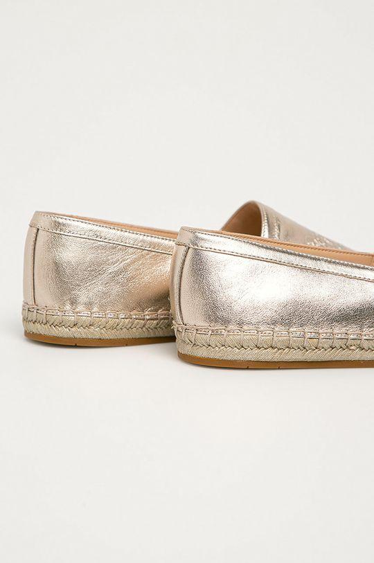 Coach - Espadrile de piele  Gamba: Piele naturala Interiorul: Material sintetic Talpa: Material sintetic