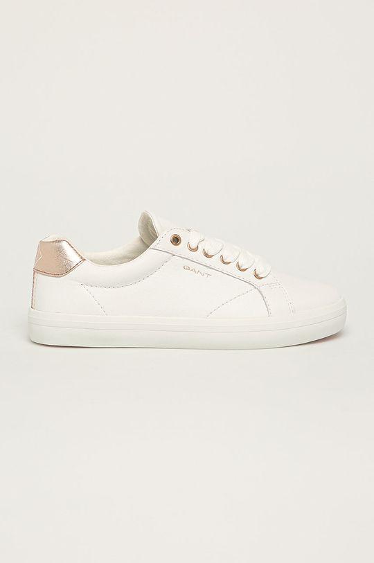 biela Gant - Kožená obuv Seaville Dámsky