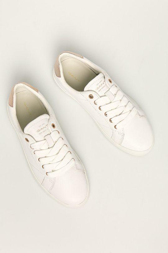 biela Gant - Kožená obuv Seaville