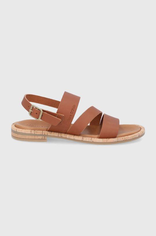 hnedá Marc O'Polo - Kožené sandále Dámsky