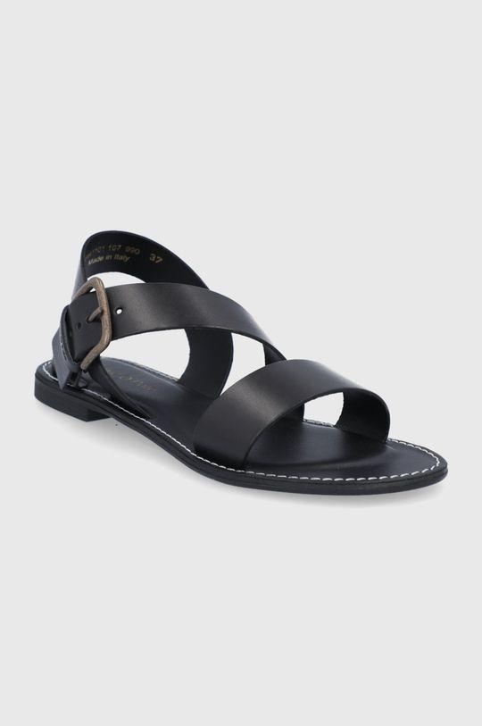Marc O'Polo - Sandały skórzane czarny