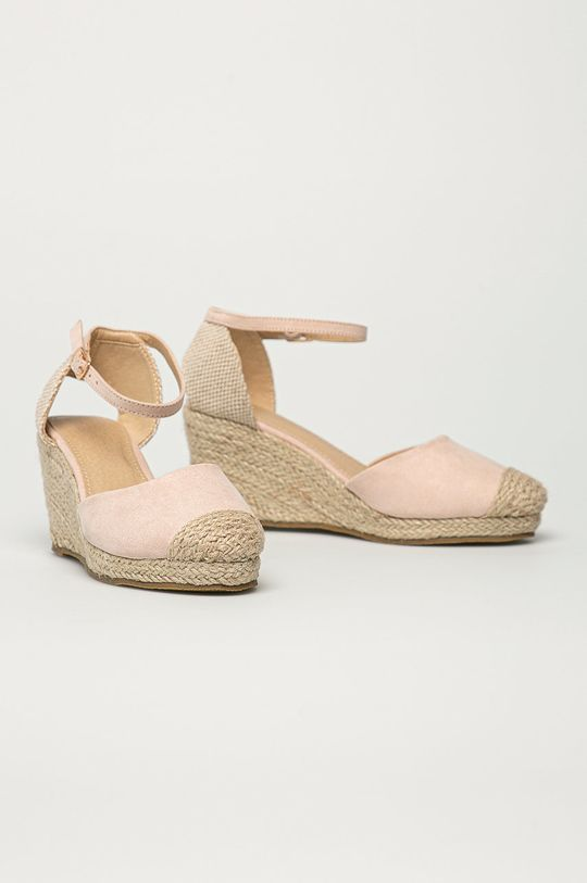 Truffle Collection - Espadrile roz