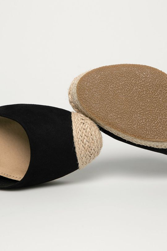 negru Truffle Collection - Espadrile
