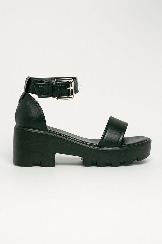 čierna Truffle Collection - Sandále Dámsky