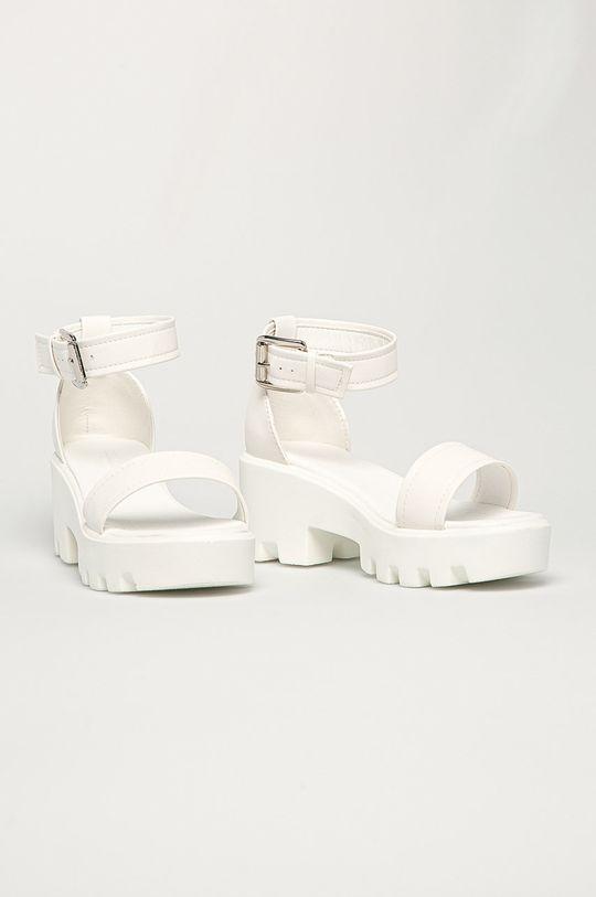 Truffle Collection - Sandále biela