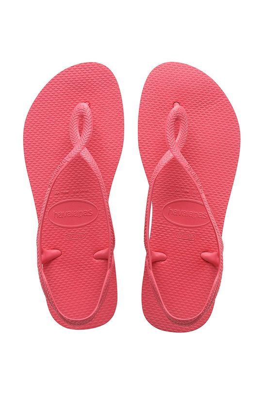 pastelově růžová Havaianas - Sandály