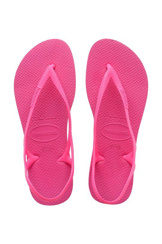 sýto ružová Havaianas - Sandále