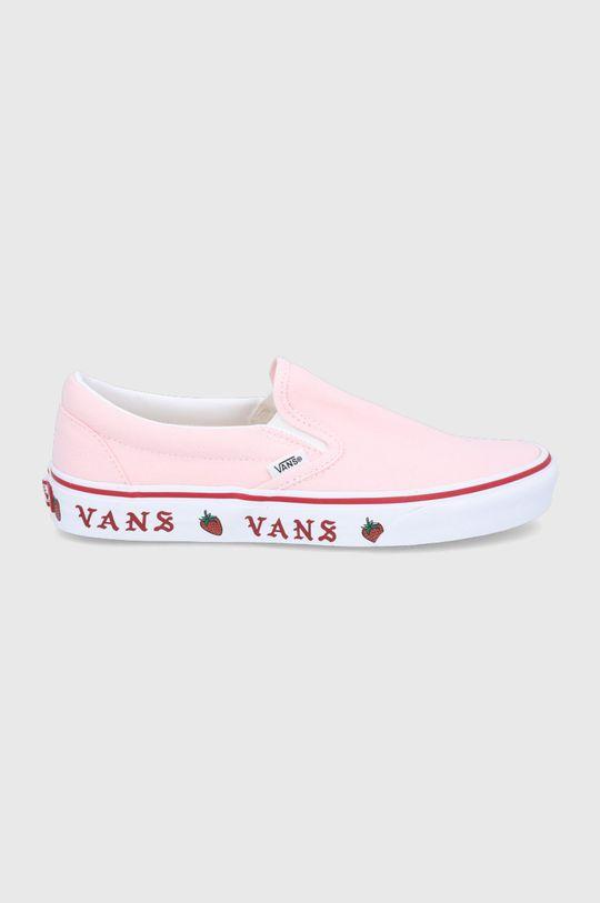 pastelowy różowy Vans - Tenisówki Damski