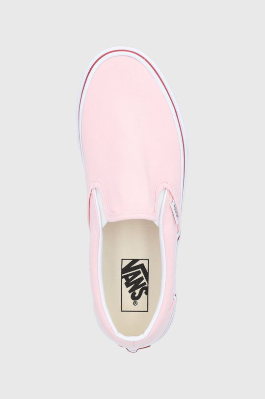 pastelowy różowy Vans - Tenisówki