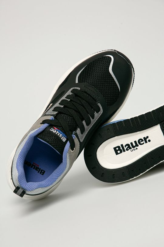 černá Blauer - Boty