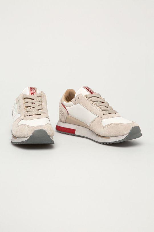 Napapijri - Topánky krémová