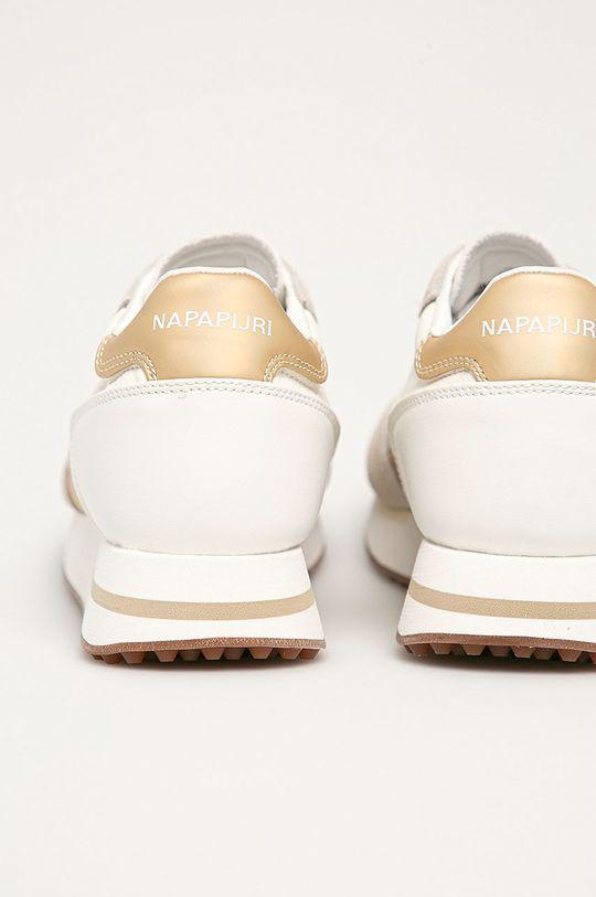 Napapijri - Kožená obuv  Zvršok: Prírodná koža Vnútro: Textil Podrážka: Syntetická látka