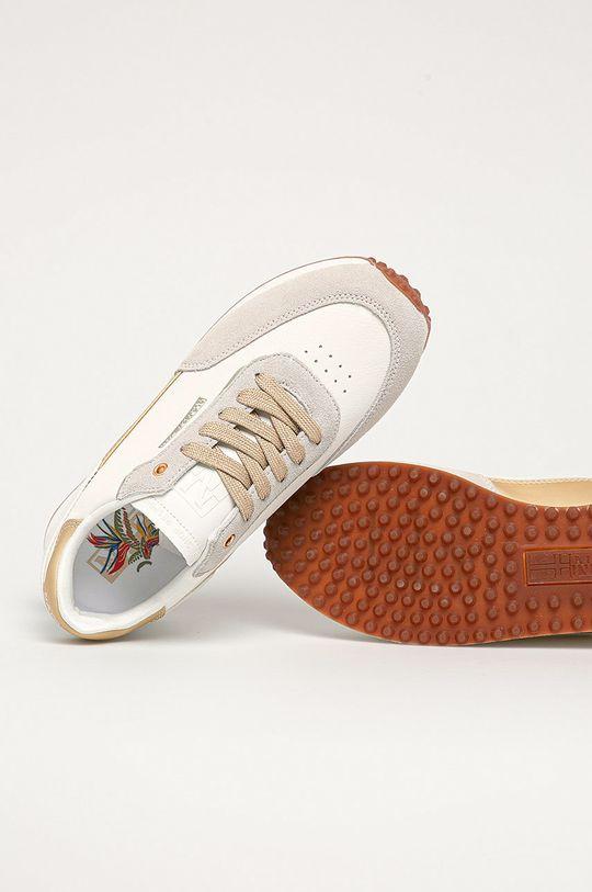 biela Napapijri - Kožená obuv