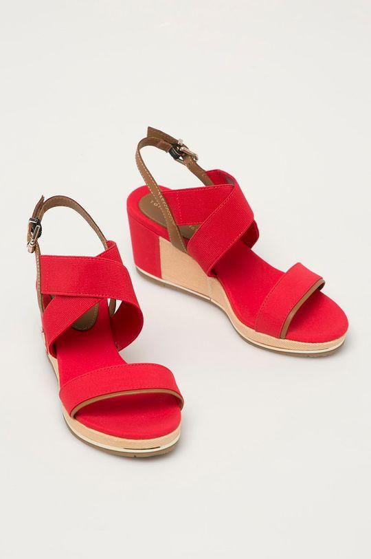 Tommy Hilfiger - Sandály červená