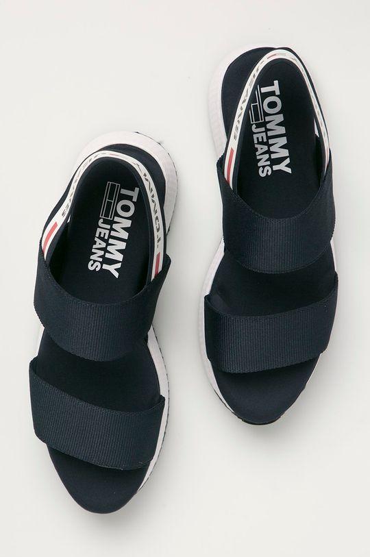 námořnická modř Tommy Jeans - Sandály