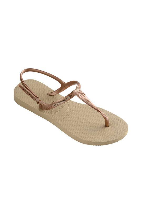 Havaianas - Sandály béžová