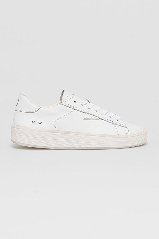 biela D.A.T.E. - Kožená obuv Ace Pop Dámsky